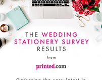 Wedding stationery infographic