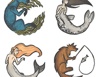 Sterohype Badge Competition 2017: Mythical Creatures