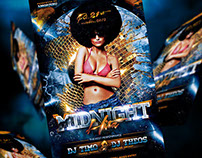 Midnight Hitz Flyer Template
