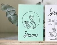 Birth announcement Suzan