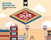 BAYANI BAYBAYIN Free Font