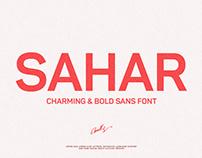 Sahar-Bold Sans Serif (Free Download)