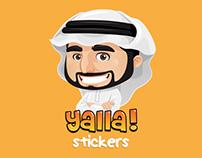 Yalla Animated Stickers