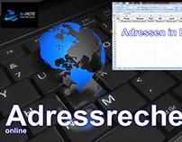Online Adressrecherche