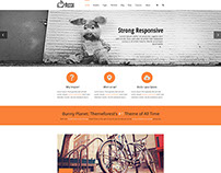 Bunny Planet Web Template | UI/UX