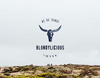 Blondylicious. Visual identity