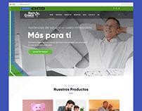 Red Enlace Mx - Rediseño sitio web institucional