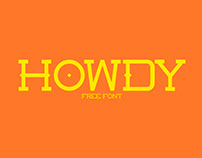 HOWDY FONT