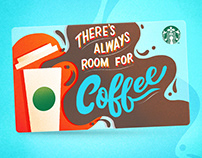 Starbucks Gift Card Concept