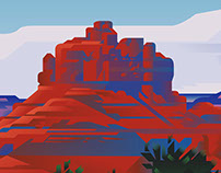 SEDONA TRAVEL POSTERS