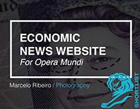 Economic News Website (Opera Mundi)