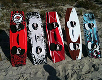 Kiteboard Designs