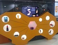 Mobiliário Interativo - Museu da Geodiversidade - BG