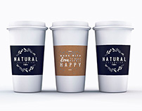Natural Coffees · Corporate identity