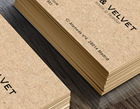Business cards · Ginger&Velvet