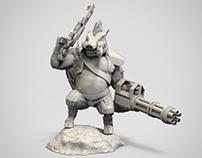 BOAR SOLDIER  |  3D