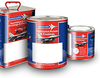 Product Packaging (Paint Tins) Design