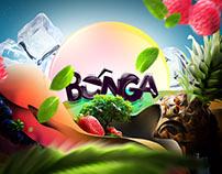 Branding: BUNGA - Napój owocowy | Fruit drink