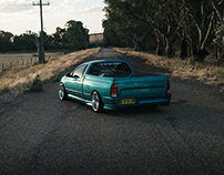 Ford Falcon - Aqua Blue