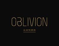 Oblivion - A Free Neon Typeface