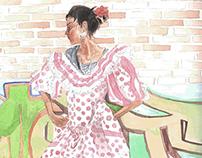 Tia flamenca