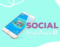 Social media- Variados