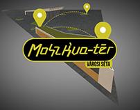 Moszkva Tér Városi Séta logo animation