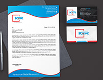 Free Stationary Design (Letterhead & Business Card)