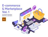 E-commerce Illustration Set