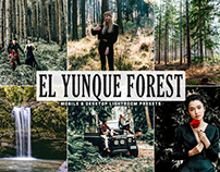 Free El Yunque Forest Pro Lightroom Presets