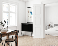 Scandinavian Apartment - CGI