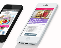 Mobile Web Design - Food Lovers