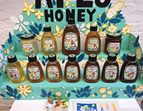 Honey Possum Label Designs