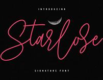 Starlose Signature Font