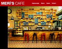 Meri's Cafe Website