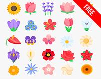 Free Spring Icon Set
