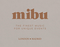 MIBU - branding & website design