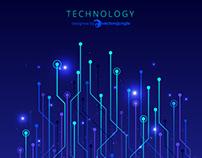 Technology Gradient Background
