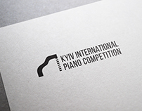 logo and poster for piano competition