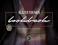 Blazer for Men Lookbook Winter/Fall 2015/16