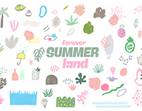 Free Vector Graphics - Forever Summer Land