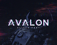 Avalon - Glitch Font