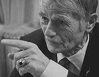 Mustafa Jemilev. Leader of Crimean Tatar people.