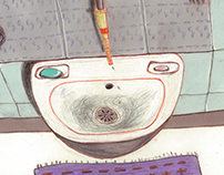 Grandma's  bath