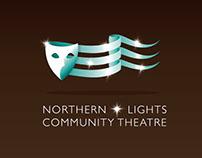 Northern Lights Community Theatre Logo comps
