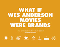 What if Wes Anderson movies were brands