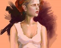 Digital Painting trials