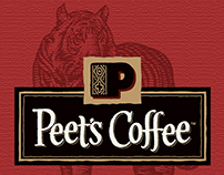 Peet's Coffee Pick of the Month Poster by Steven Noble