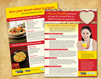 USA Rice Federation - Heart Healthy Flyer