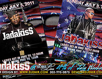 4th of July  Weekend With Jadakiss at SOBE Live Flyer